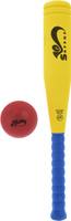 Купить Safsof Игровой набор бейсбольная бита мяч цвет желтый синий красный, Спортивные игры