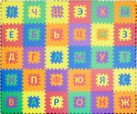 Купить Funkids NT Коврик-пазл с русским алфавитом Алфавит-1, Развивающие коврики