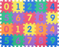 Купить Funkids NT Коврик-пазл Цифры-4, Развивающие коврики