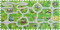 Купить Funkids NT Коврик-пазл с дорогами Город-1 KB-H61-NT-01, Развивающие коврики