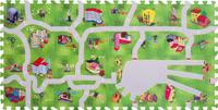 Купить Funkids NT Коврик-пазл с дорогами Город-1 KB-H61-NT-03, Развивающие коврики