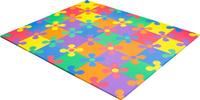 Купить Funkids Коврик-пазл Цветы-12 KB-049-30FL-NT-01, Развивающие коврики