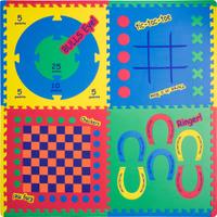 Купить Funkids NT Коврик-пазл Игровой Центр 4 в 1 цвет в ассортименте, Развивающие коврики
