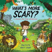 Купить What's More Scary?, Зарубежная литература для детей