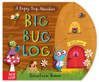 Купить The Big Bug Log, Первые книжки малышей
