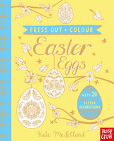 Купить Press Out and Colour: Easter Eggs, Поделки, мастерилки, маски