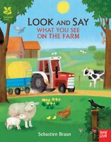 Купить Look and Say What You See on the Farm, Первые книжки малышей