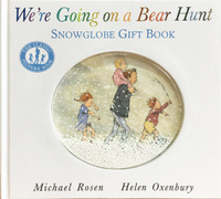 Купить We're Going on a Bear Hunt: Snowglobe Gift Book, Зарубежная литература для детей