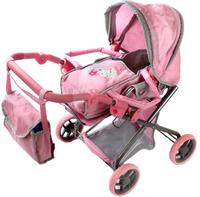 Купить Mary Poppins Коляска-трансформер для кукол Корона цвет светло-розовый серый, Куклы и аксессуары
