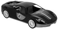 Купить Zebratoys Спортивный автомобиль цвет черный, Первые игрушки