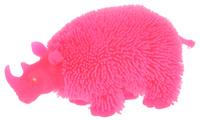 Купить 1TOY Антистрессовая игрушка Нью-Ёжики Носорог цвет розовый, Развлекательные игрушки