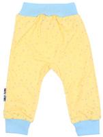 Купить Штанишки детские Luky Child, цвет: желтый. А1-111. Размер 56/62, Lucky Child, Одежда для новорожденных