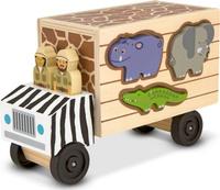 Купить Melissa & Doug Обучающая игра Сортировщик-грузовик Сафари, Обучение и развитие