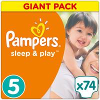 Купить Pampers Sleep & Play Подгузники 5 11-18 кг 74 шт