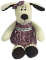 Купить Teddy Мягкая игрушка Собака в платье 16 см, Мягкие игрушки