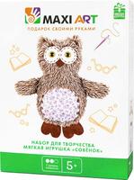 Купить Maxi Art Набор для творчества Мягкая игрушка Совёнок, HK KYO ARTS & CRAFTS CO., LTD, Игрушки своими руками