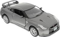 Купить Kinsmart Модель автомобиля 2009 Nissan GT-R R35 цвет серый, Машинки