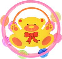 Купить Shantou Gepai Набор бубнов цвет розовый оранжевый 2 шт, Shantou Gepai Plastic Industrial Co., Ltd, Музыкальные инструменты