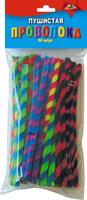 Купить Апплика Набор материалов для творчества Пушистая проволока спираль 15 см 50 шт, Игрушки своими руками