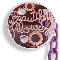 Купить Suavinex Держатель соски-пустышки Haute Couture с зажимом цвет фиолетовый, Аксессуары для пустышек