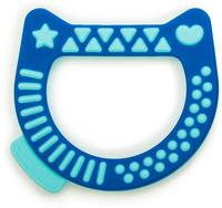 Купить Suavinex Прорезыватель Котик от 4 месяцев цвет синий, Прорезыватели