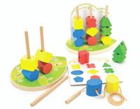 Купить Игрушки из дерева Обучающая игра Сортер Геометрические фигуры, Обучение и развитие