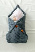 Купить Loom Конверт-плед для новорожденного Universal 85 х 85 см, Пледы и покрывала