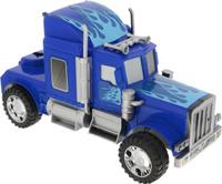 Купить Junfa Toys Тягач инерционный цвет синий 565-3, Машинки