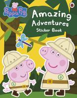 Купить Peppa Pig: Amazing Adventures Sticker Book, Книжки с наклейками