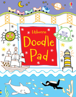 Купить Usborne Doodle Pad, Раскраски на любой вкус