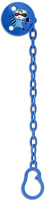 Купить Suavinex Держатель соски-пустышки с зажимом цвет голубой 3153792, Аксессуары для пустышек