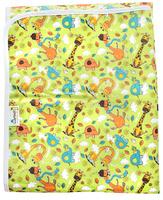 Купить GlorYes! Наматрасник детский Жирафы 120 х 60 см, Постельное белье
