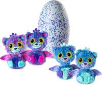 Купить Hatchimals Игрушка-сюрприз Близнецы Интерактивные питомцы 19110-PINK, Интерактивные игрушки