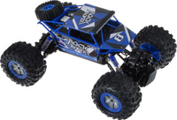 Купить Пламенный мотор Краулер Амфибия на радиоуправлении цвет синий, Машинки