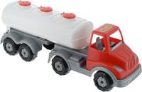 Купить Полесье Автомобиль Муромец с полуприцепом-цистерной цвет красный белый, Машинки
