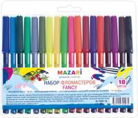 Купить Mazari Набор фломастеров Fancy 18 цветов, Фломастеры