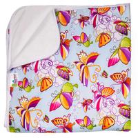Купить GlorYes! Впитывающая пеленка Бабочки 120 х 100 см, Подгузники и пеленки