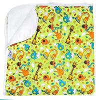 Купить GlorYes! Впитывающая пеленка Жирафы 80 х 68 см, Подгузники и пеленки