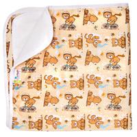 Купить GlorYes! Впитывающая пеленка Медвежонок 120 х 100 см, Подгузники и пеленки