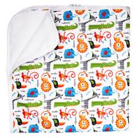 Купить GlorYes! Впитывающая пеленка Сафари 120 х 100 см, Подгузники и пеленки
