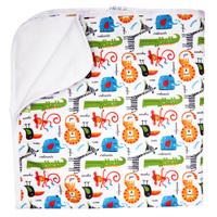 Купить GlorYes! Впитывающая пеленка Сафари 80 х 68 см, Подгузники и пеленки