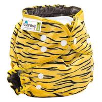 Купить GlorYes! Многоразовый подгузник Optima плюшевый Тигруля 3-18 кг + два вкладыша, Подгузники и пеленки