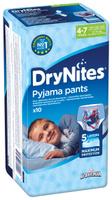 Купить Huggies Подгузники-трусики для мальчиков DryNites 4-7 лет 17-30 кг 10 шт, Подгузники и пеленки