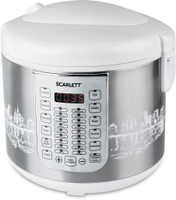 Купить Scarlett SC-MC410S21, White Silver мультиварка, Мультиварки