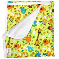 Купить GlorYes! Непромокаемая пеленка Жирафы 80 х 68 см, Подгузники и пеленки