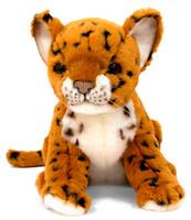 Купить Hansa Мягкая игрушка Детеныш леопарда 17см, Hansa Toys, Мягкие игрушки