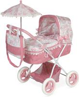 Купить DeCuevas Коляска для куклы Даниэла с сумкой и зонтиком 85021, Куклы и аксессуары