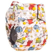 Купить GlorYes! Многоразовый подгузник Premium Котята 3-18 кг + два вкладыша, Подгузники и пеленки