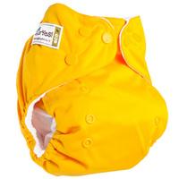 Купить GlorYes! Многоразовый подгузник Classic Банан 3-15 кг + один вкладыш, Подгузники и пеленки