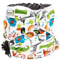 Купить GlorYes! Многоразовый подгузник Optima Сафари 3-18 кг + два вкладыша, Подгузники и пеленки